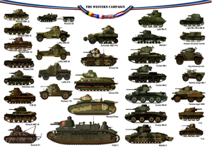 tanks posters - The western campaign may 1940