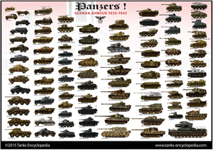 tanks posters - Wehrmacht 1939-45