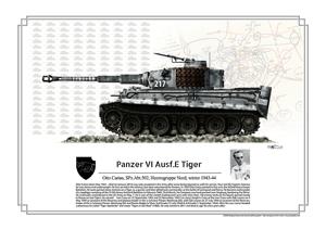 Otto Carius Tiger winter 1943-44
