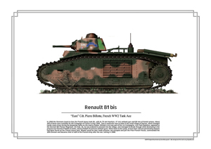ww2 aces: Renault B1 Bis Eure