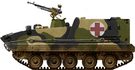 Type 85 Armored Ambulance