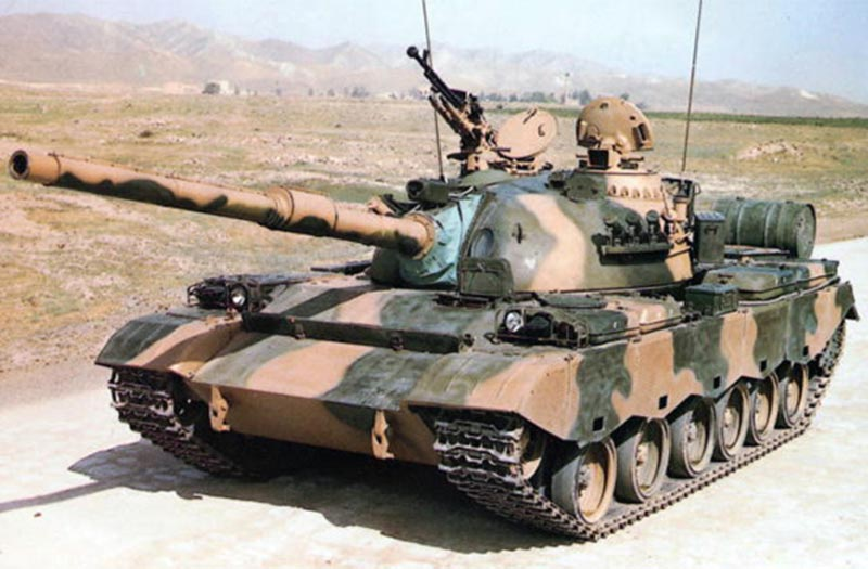 Type 80 Chinese medium tank
