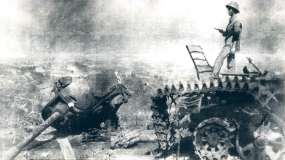 Battle of Cao Bang, Type 62 destroyed