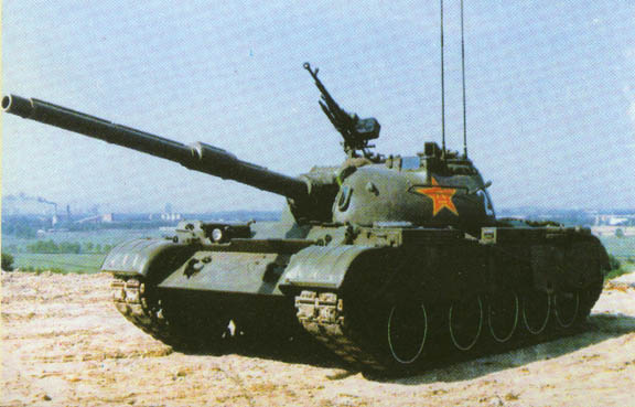 Type 59 Chinese medium tank