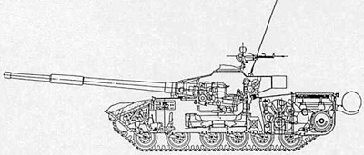 Cutaway profile of the Type 85