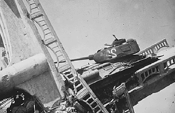 Destroyed Chinese T-34/85