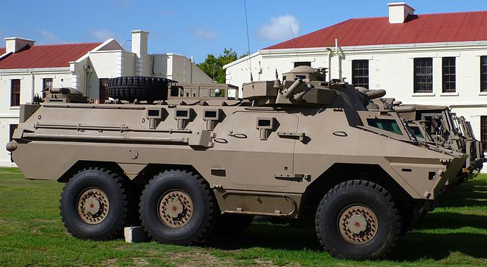 Ratel 20 at the Cape Town Castle