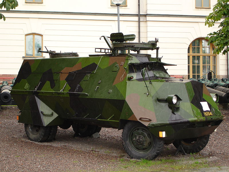 KP-Bil at the Stockholm Army Museum. This 1942 vehicle remained in service until the 1990s.