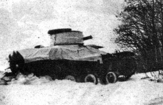 The rare Risktanken or L-120, the unique Norwegian tank built by AB Landsverk in 1936.