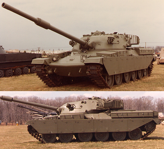 The Chieftain MBT heavy tank