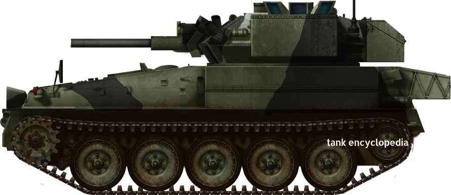 FV101 Scorpion - Tanks Enyclopedia