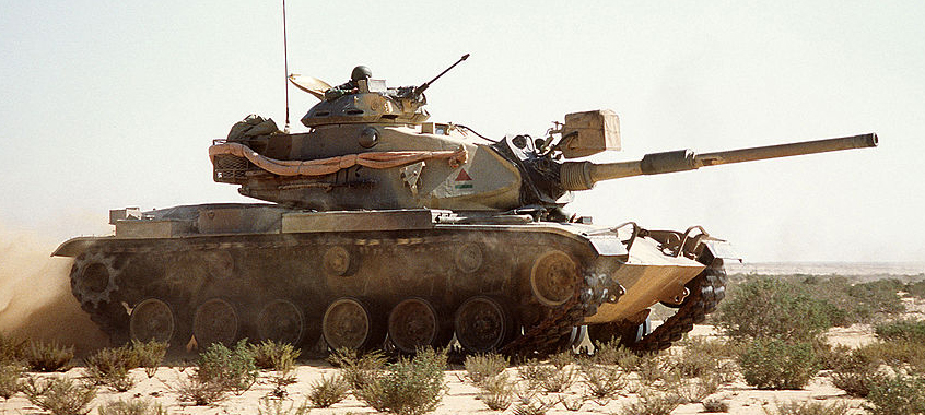 M60A1 in exercise Bright Star '1985