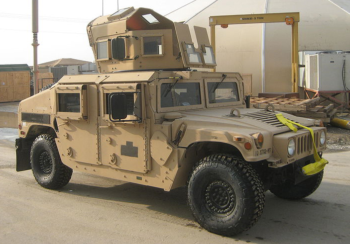 M1151 with add-on armour