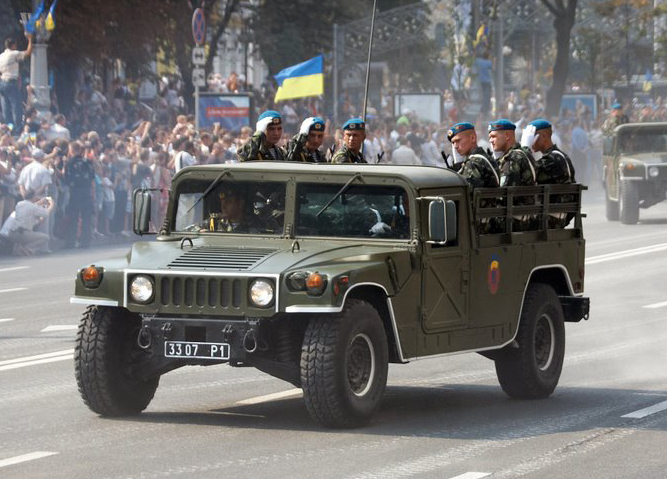 Ukrainian Humvees