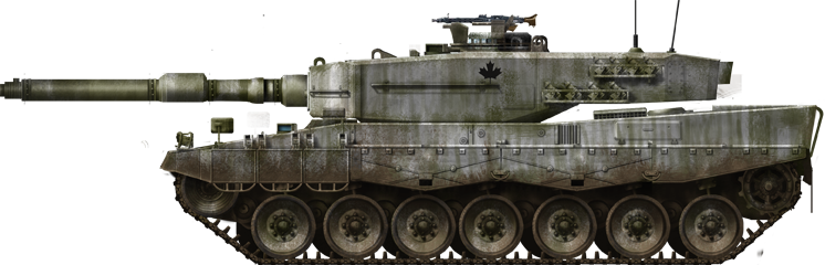 Canadian leopard 2A2
