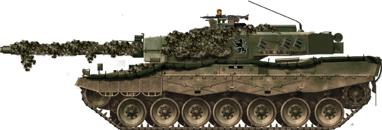 Netherlands Army Leopard 2A4