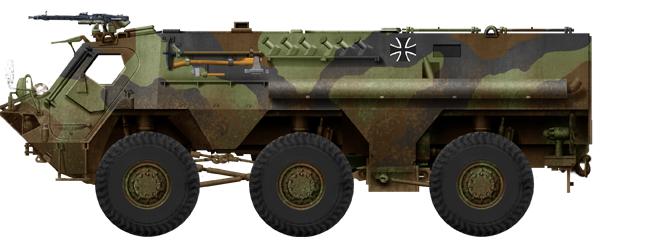 Standard APC version (transportspanzer) - Bundeswher