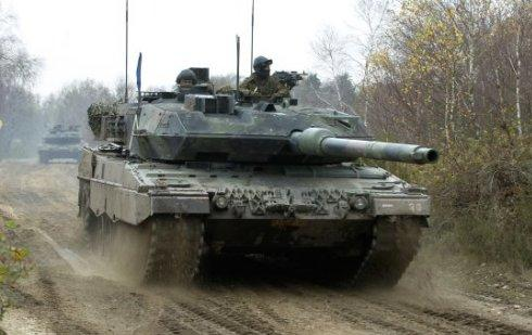 A German And Dutch Solr With The Key Of First Leopard 2a6ma2 Battle Tank Credit Nl Mod