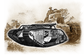 world war one tanks