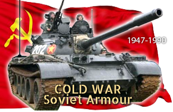 Coldwar Soviet tanks and AFVs