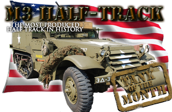 May tank of the month: The M3  Halftrack