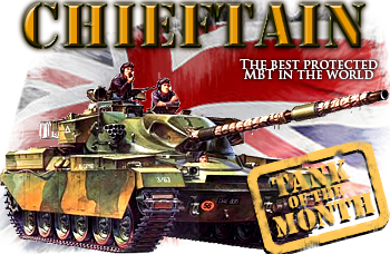 October tank of the month: The Chieftain MBT