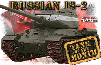 December tank of the month: The IS-2