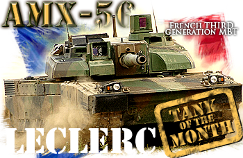 March tank of the month: The AMX-56 Leclerc