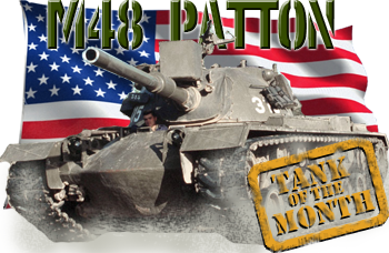 July tank of the month: The M48 Patton