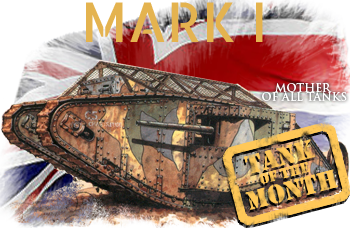25 December tank of the month: The Mark 1, ww1 British Tanks