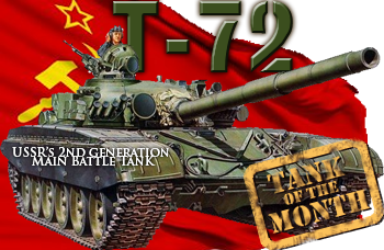 August tank of the month: The T-72