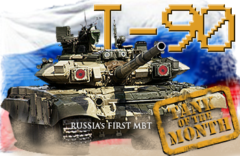 August tank of the month: The T-90