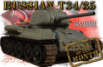 July tank of the month: The T34/85