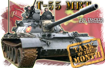 May tank of the month: The T54/55
