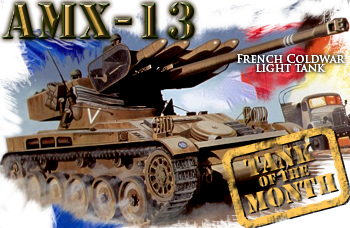 March tank of the month: The AMX-13