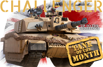 September tank of the month: The Challenger