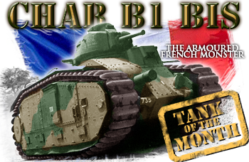 August tank of the month: The Char B1 bis
