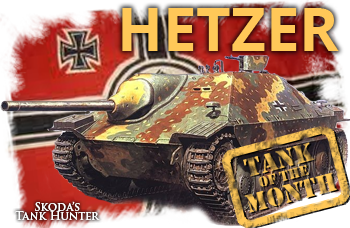 November tank of the month: The Hetzer