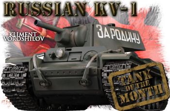 February tank of the month: The Russian KV-1