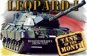 June tank of the month: The Leopard I