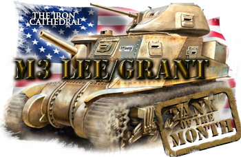 April tank of the month: The M3 Lee/Grant