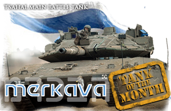 April tank of the month: The Merkava MBT