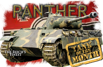 September tank of the month: The Panther