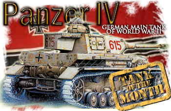 November tank of the month: The Panzer IV