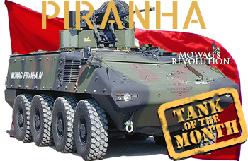 October tank of the month: The Mowag Piranha