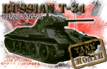 April tank of the month: The T34/76
