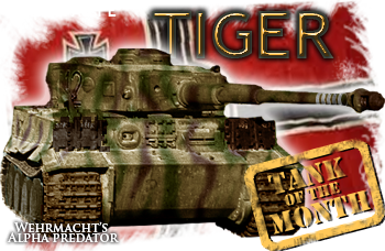 Christmas tank of the month: The Tiger