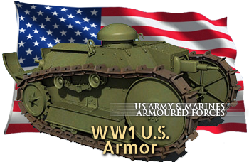 ww1 US tanks