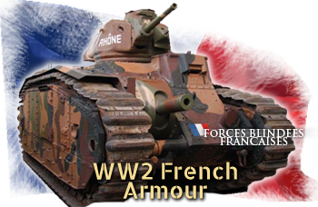 WW2 French tanks