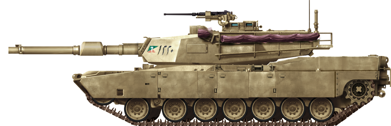 Egyptian M1A1